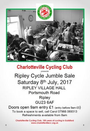 Cycle Jumble Poster 2017